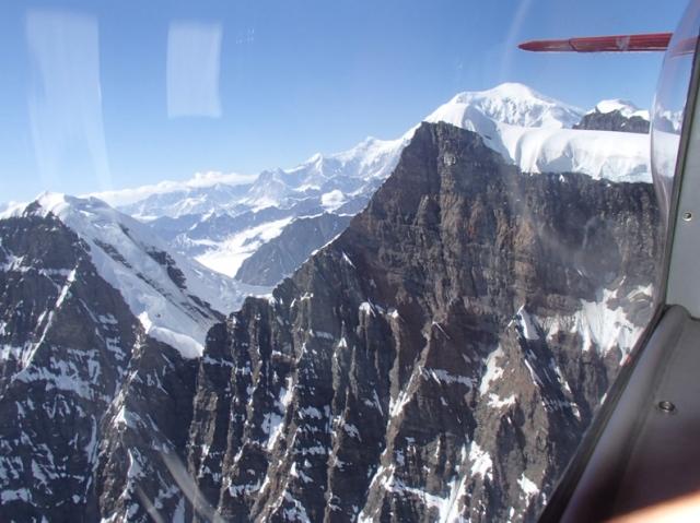 Cruzando valles y picos magnificos