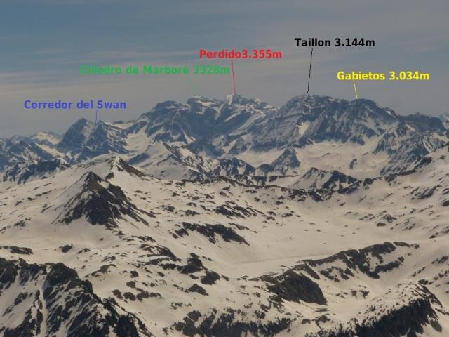 Vista de la zona de Gavarnie